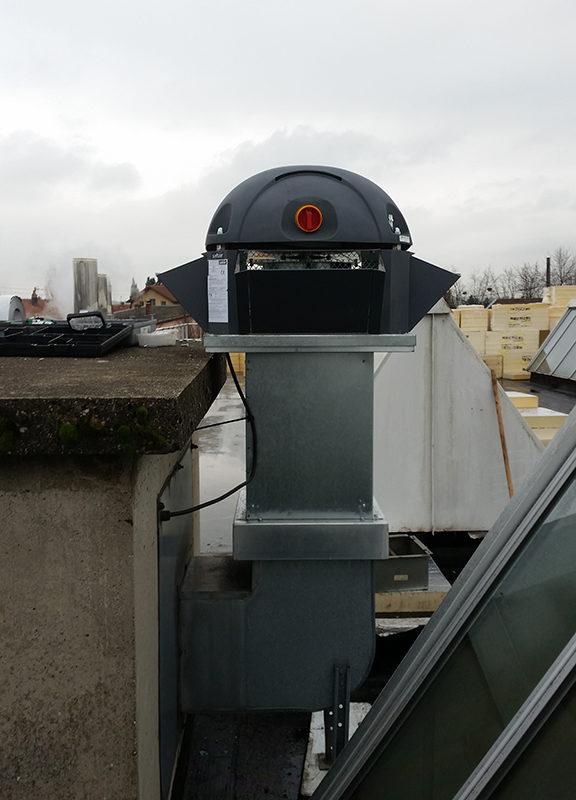 Désenfumage - 2BCLIM - Climatisation - Chauffage - Plomberie - Ventilation -Désenfumage - Domotique GTC